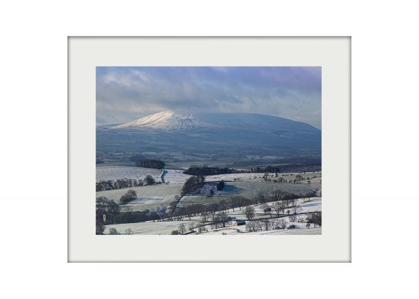 Pendle from Malham A3 Mockup