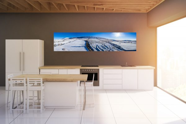 Pendle in Snow Mockup
