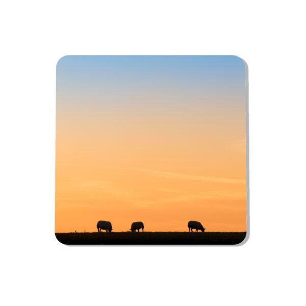 Sheep Silhouette Coaster