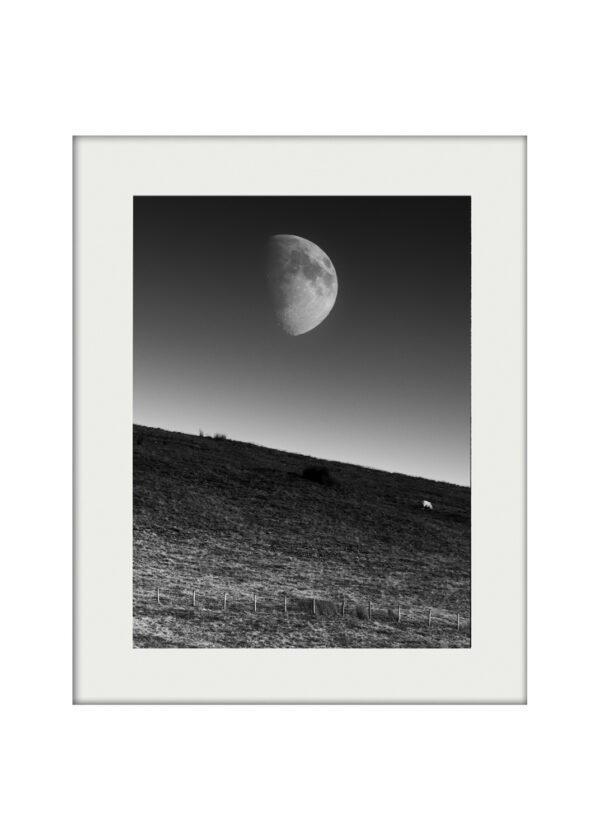 A3 Mockup _ Moonrise over Pendle