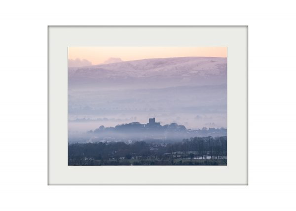 A3 Mockup _ The Castle in a Winter's Dusk