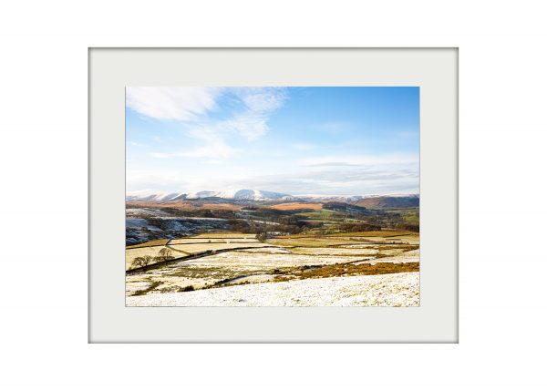 A3 Mockup _ Winter in the Hodder Valley